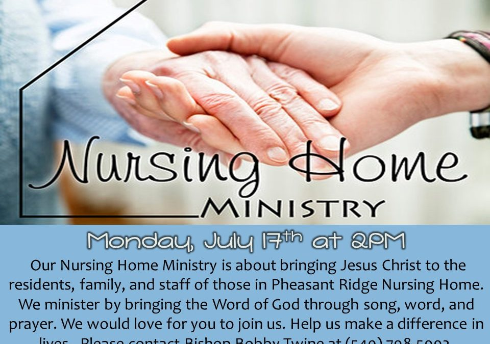 Nursing Home Outreach