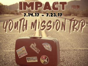IMPACT Youth Missions Trip @ Nashville, TN