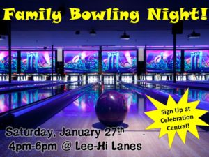 Family Bowling Tournament
